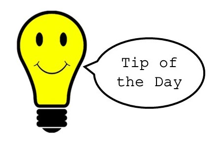 Image result for tip of the day picture