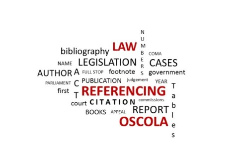 referencing a dissertation oscola Use the following template to cite a interview using the oscola citation style   to have your reference list or bibliography automatically made for you, try our  free  how to cite a dissertation in oscola style how to cite a e-book or pdf  in.