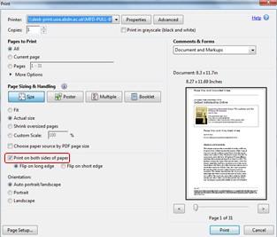 Print one-sided PDF2