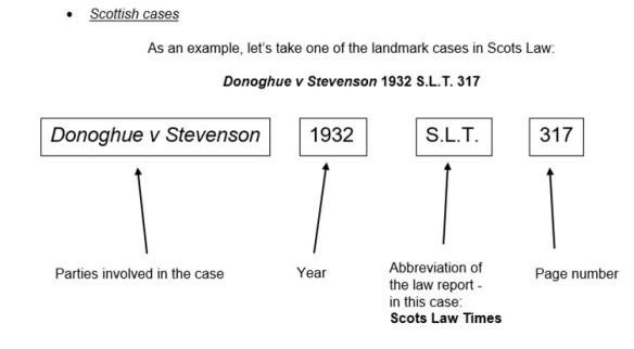Understanding Citations Cases Legal Information Update